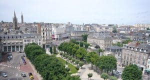 La place Jourdan à Limoges