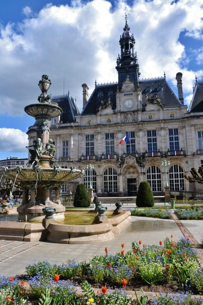 L'hôtel de ville de Limoges