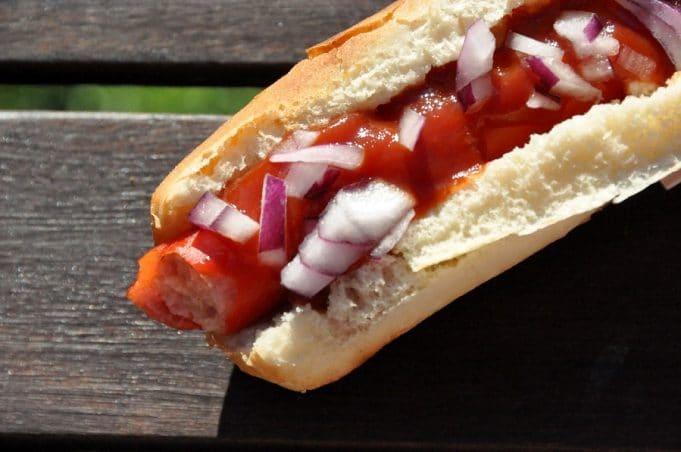voyage culinaire hotdog états unis