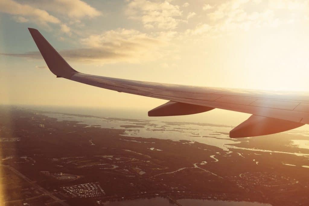voyage en avion vacances